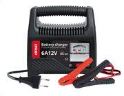 AMIO φορτιστής μπαταριών 12V/6A 02085 με αναλογική ένδειξη και ασφάλεια