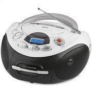 AEG Φορητό ραδιοκασετόφωνο με CD/ MP3 player 6W SR 4353