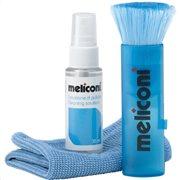 MELICONI Υγρό καθαρισμού 35 ml + πανάκι με μικροΐνες + βούρτσα, C-35P 35ml/CLOTH/BRUSH