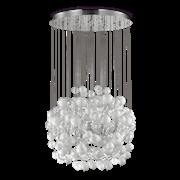 Ideal Lux Κρεμαστό Φωτιστικό Οροφής Πολύφωτο BOLLICINE SP14 BIANCO 087924