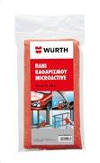 Würth Πανί καθαρισμού microactive κόκκινο 40x40cm