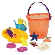 B.Toys Σετ Κουβαδάκι Παραλίας 34 εκ. 'Πορτοκαλί'