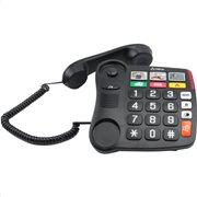 Olympia 4500 Τηλέφωνο με μεγάλα πλήκτρα, συμβατό με ακουστικά βαρηκοΐας, αν. ακρόαση και 6 μνήμες