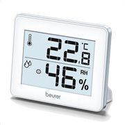 Beurer Θερμόμετρο/Υγρόμετρο δωματίου ΗΜ 16