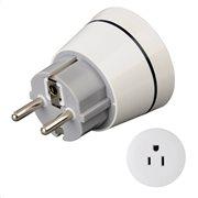 Hama Travel Adapter Plug, USA to GR