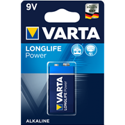VARTA LONGLIFE POWER 9V BLISTERx1pc
