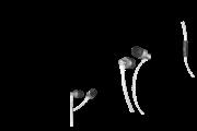 Yenkee Ακουστικά Handsfree Flat Λευκό YHP 105 SR