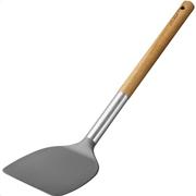 Lamart lt3981 εργαλεία μαγειρικής νάιλον σπάτουλα ξύλινη λαβή