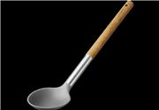 Lamart lt3978 εργαλεία μαγειρικής νάιλον κουτάλα ξύλινη λαβή