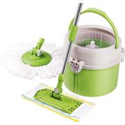 Lamart Αξεσουάρ Καθαρισμού Σετ Κάδος-Σφουγγαρίστρα LT8012 πράσινο