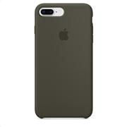 Apple Silicone Case iPhone 8-7Plus Dark Olive