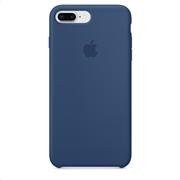 Apple Silicone Case iPhone 8-7Plus Blue Cobalt
