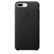 Apple Leather Case iPhone 8-7Plus Black