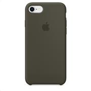 Apple Silicone Case iPhone 8-7 Dark Olive