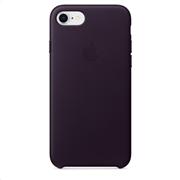 Apple Leather Case iPhone 8-7 Dark Aubergine