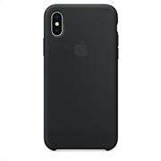 Apple Silicone Case iPhone X Black