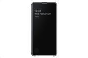 Samsung Clear View Cover S10 E Black