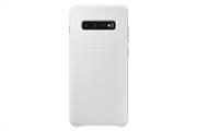 Samsung Θήκη Leather Cover S10 + White