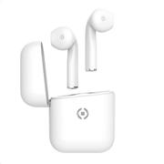 Celly True Wireless Earphones Drop White