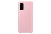 Samsung Led Cover S20 Ρόζ