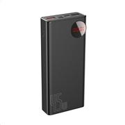 Baseus Powerbank PD+QC 20000mAh 2xUSB/Type-C Digital Display 45W Black