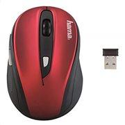 """Hama Ασύρματο Οπτικό Ποντίκι """"AM-8200"""",Κόκκινο/Μαύρο"""