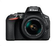 Nikon D5600 Kit DSLR Φωτογραφική Μηχανή AF-P 18-55mm VR Μαύρο