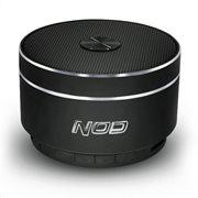 NOD Φορητό bluetooth ηχείο αλουμινίου 5W με λειτουργία ραδιοφώνου Round-Sound