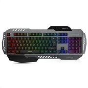 NOD Ενσύρματο gaming πληκτρολόγιο, με RGB LED οπίσθιο φωτισμό, NOD FURY
