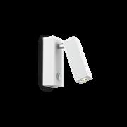 Ideal Lux Φωτιστικό Τοίχου - Απλίκα Μονόφωτο PAGE AP1 SQUARE BIANCO 142258