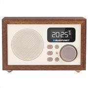 Blaupunkt Ξύλινο Ραδιόφωνο Alarm/Clock/FM PLL,SD / USB / AUX,