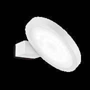 Ideal Lux Φωτιστικό Τοίχου - Απλίκα Μονόφωτο FLAP AP1 ROUND BIANCO 155395