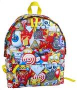 """Emoji Σακίδιο Οβάλ 16"""" Paxos 167605"""