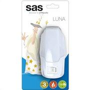 SAS Φωτάκι νυκτός LED με διακόπτη.   SAS 100-15-133
