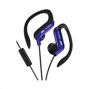 JVC Ear-Clip  αθλητικά ακουστικά με μικρόφωνο HAEBR25AE Μπλε