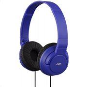 JVC On Ear Ακουστικά Κεφαλής HA-S180A μπλε