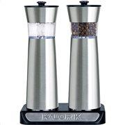 Kalorik Hλεκτρικοί επαναφορτιζόμενοι μύλοι πιπεριού και αλατιού με αισθητήρα λειτουργίας PSGR 2000 RI