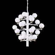 Ideal Lux Κρεμαστό Φωτιστικό Οροφής Πολύφωτο COPERNICO SP20 BIANCO 197326
