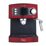 Izzy Μηχανή Espresso 6823 Spicy Red 15 Bar