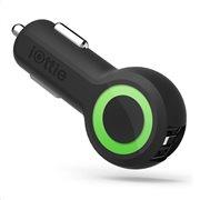 iOttie RapidVOLT Max, Dual Port USB Car Charger (Black)