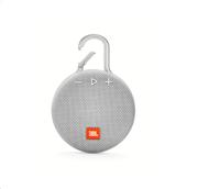 JBL Clip 3 Bluetooth Ηχείο Φορητό Αδιάβροχο IPX7 Λευκό