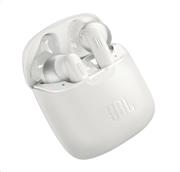 JBL Tune 220TWS, True Wireless Ear-Buds Headphones, (White)