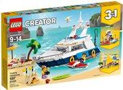 LEGO Creator Yacht Adventure 31083 Περιπέτειες με Σκάφος