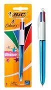 BIC στυλό διαρκείας 4 Colours με μύτη 1mm μπλε