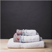White Fabric Σετ Πετσέτες Sasha Άσπρες