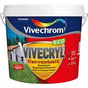 VIVECRYL THERMOELASTIC ECO ΛΕΥΚΟ VIVECHROM 10LT