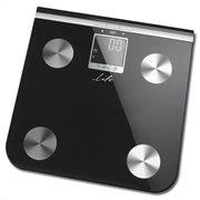Life Γυάλινη ηλεκτρονική ζυγαριά μπάνιου με λιπομέτρηση 5-σε-1 BSC-100