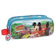 Disney κασετίνα 2 θέσεων 23x9x7cm σειρά Mickey Roadster Racers