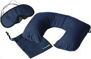 Travel Blue Σετ μαξιλάρι λαιμού & μάσκα ύπνου μπλε