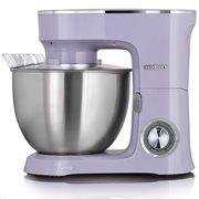 HEINRICH'S Κουζινομηχανή με κάδο μίξης 8L σε pastel μωβ χρώμα, 1400W.  KM 8078 pastell lila